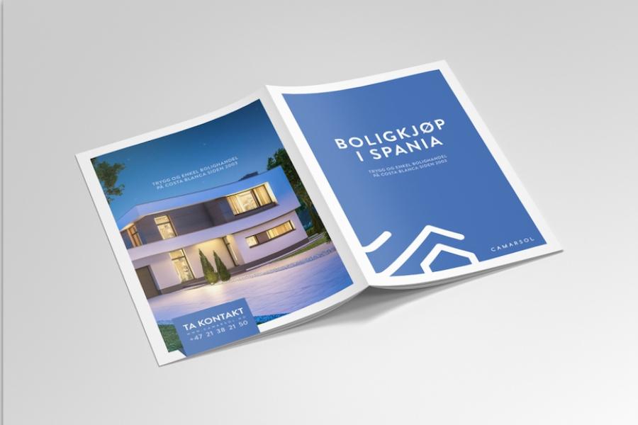 Design av broschyr & häfte