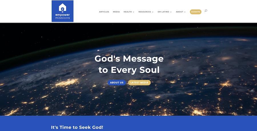 Hemsida, webbdesign, empower